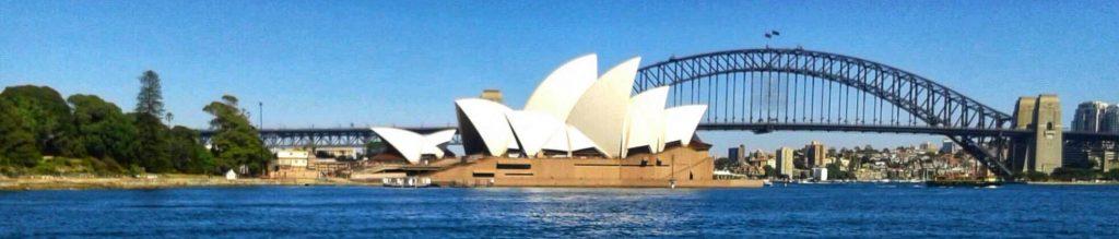 Avstandsbilde av Sidney Opera